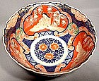 Antique Japanese Porcelain Imari Porcelain Bowl, 19th C