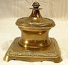 Antique Desk Inkwell, 19th Century