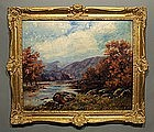 Canadian Landscape Painting by Robert Darby