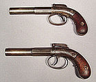 Antique Gun American percussion pistols