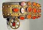 Antique 18th c.Turkish Ottoman Belt for Sword Yatagan