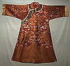 Antique Chinese Robe,Brocade Dragon Silk