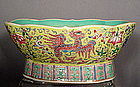 Antique Chinese Porcelain Famille Rose Bowl Qing