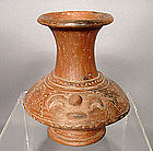 Ancient Pre-Columbian Nicoya Ceramic Vessel
