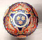 Antique Japanese Porcelain Imari Bowl, Meiji Period