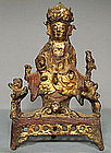 Antique Bronze Guanyin Ming Dynasty