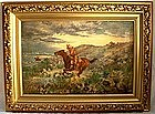 American Wild West Painting 1904