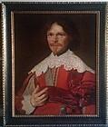 Abraham Wuchters Old Master Portrait  c.1648