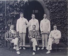 Photograph  Oxford University Tennis Team 1906