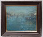 New York Impressionist Nocturne Ida Proper