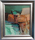Alexander Nepote abstract modernist oil painting