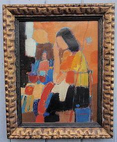Marco Stupar Modernist portrait woman