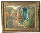 Carmel Cottage Garden By William Adam
