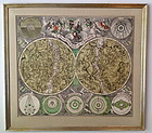 Planisphaerium Coeleste M. Seutter Celestial Map