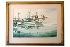 Monterey Fishing Boats James March Phillips