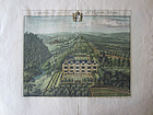 English Estate Map Saperton by Johannes Kip