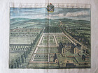 Early 18th C Estate Map by Johannes Kip-Didmarton