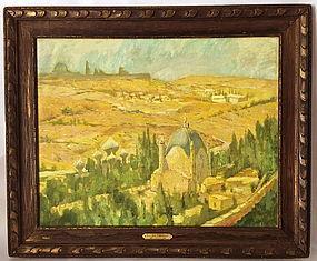 Lucien Pissarro Impressionist Mediterranean View