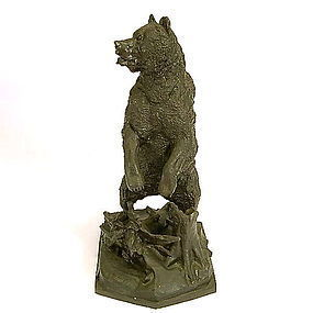 NIKOLAI IVANOVICH LIBERIKH RUSSIAN BRONZE OF A BEAR