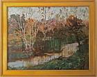 Impressionist Landscape by Everett Lloyd Bryant