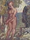 Nude Landscape Harold Davies California Art