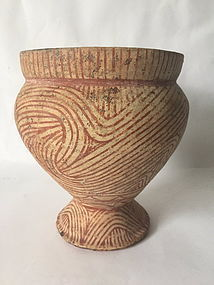 Ban Chiang ancient pottery Thailand c. 500 BC Neolithic