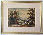 Landscape with Cattle by David Cox the younger 19th century