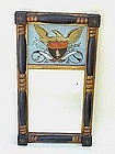American Federal Mirror Reverse painted folk art