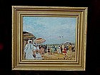 French Impressionist Beach Scene Suzanne Demarest