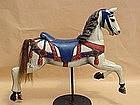 Frederick Heyn Carousel Horse c. 1910 old park paint