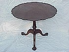 Irish Georgian Mahogany tilt top table   c.1790