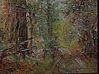 Charles Harmon California impressionist redwoods