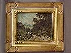 Carl Jonnevold California impressionist landscape oil