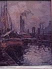 Fredrick R. Wagner Pennsylvania Impressionist oil