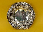 Gorham Sterling silver art nouveau floral bowl
