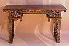 Chinese Altar Table huanghuali wood exquisite c. 1850