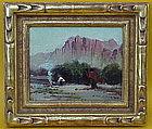 Arthur William Best Navajo Indian Camp Bear Mt. Arizona