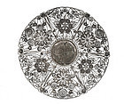 Old Chinese Silver Filigree Dish MK