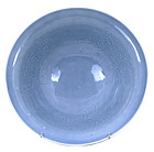 Old Chinese Sky Blue Monochrome Porcelain Bowl