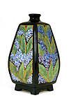 Japanese Export American Satsuma Vase Flower