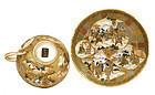 Japanese Satsuma Cup & Dish Geisha & Samurai Hotoda Mk