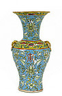 Early 20C Chinese Famille Rose Vase