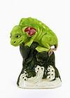 Chinese Famille Rose Beast Figurine Figure