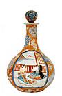 Meiji Japanese Imari Hichozen Vase Samurai Geisha Sg