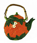 Japanese Banko Orange Shape Teapot