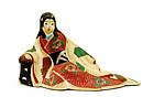 Old Japanese Hakata Erotic Geisha Figurine Figure
