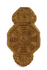 Old Chinese Herb Medicine Carved Pendant