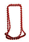 Chinese Amber Court Prayers 109 Bead Necklace