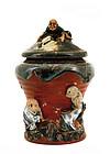 Japanese Sumida Gawa Figurine Humidor Koko Koji