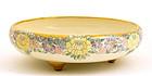 American Satsuma Tri Foot Floral Bowl